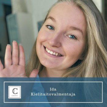 Ida Hansen. Kielitaitovalmentaja